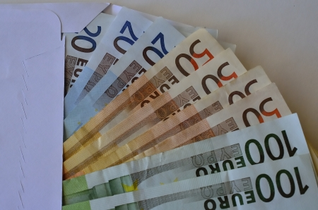Symbol of black money payments, currently in Spain Stock Photo - 18005582