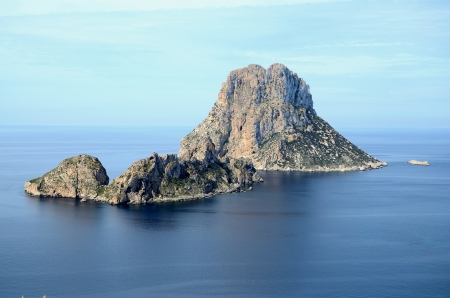 Islets in the middle of the Mediterranean sea Stock Photo