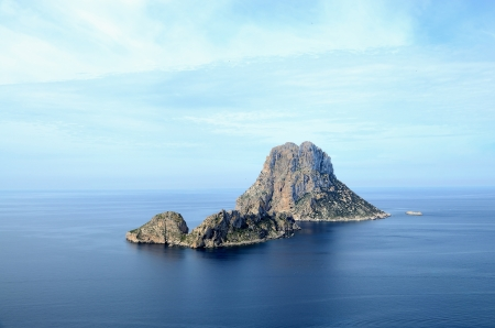 Islets off the coast of Ibiza, Mediterranean