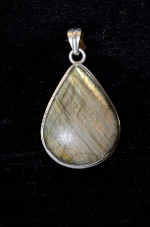 Semi precious stone jewelry made ??of silver Stock Photo