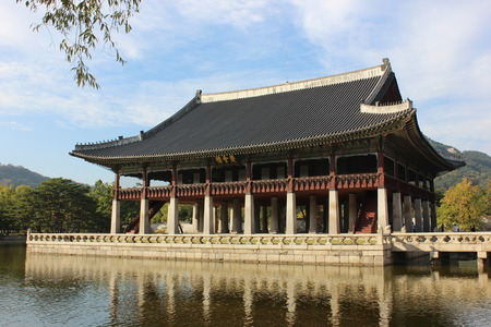 Gyeonghoeru Pavilion in Gyeongbokgung