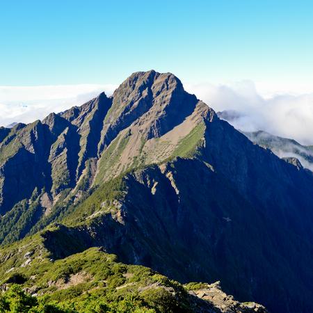 Mt jade main peak