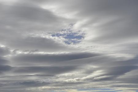 lenticular: Lenticular cloud Stock Photo