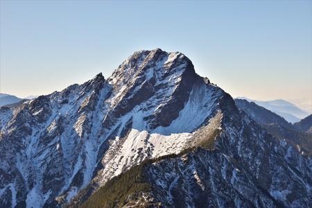Mt. jade main peak in Yushan National park