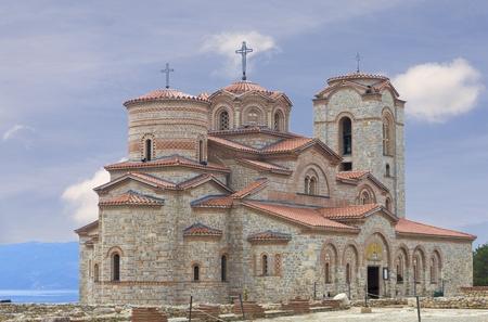 panteleimon: Holy historic church Saint Panteleimon  founded by Clement on the coast of lake Ohrid in town Ohrid Macedonia