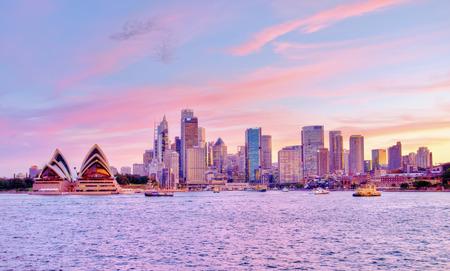 Sydney Pink Sunset