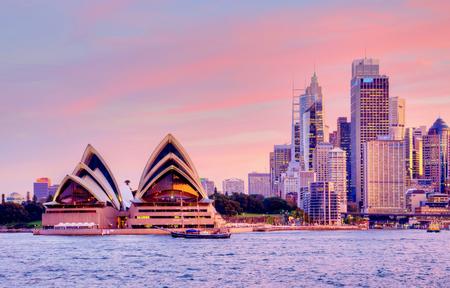 Sydney, Pink Sunset
