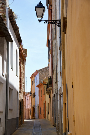 Begur, Costa Brava, Catalonia Spain typical street