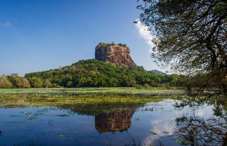 An ancient rock Sigiriya Stock Photo