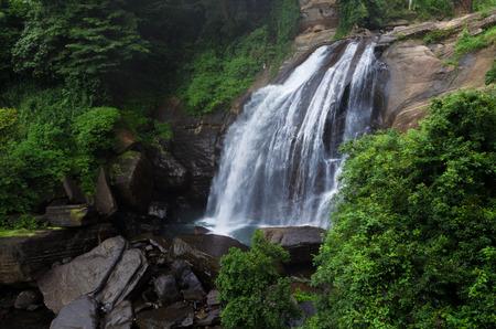 range of motion: Huluganga Falls - Sri Lanka