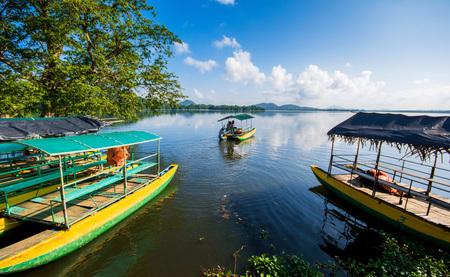 Mahiyanganaya Sorabora Lake, Sri Lanka