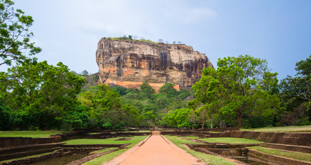 Sigiriya or Sinhagiri is an ancient rock fortress located in the northern Matale District near the town of Dambulla in the Central Province, Sri Lanka. Editorial