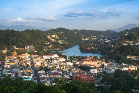 candy city view, Sri lanka