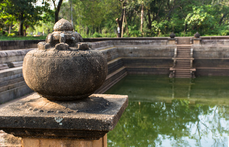 One of the best specimen of bathing tanks or pools in ancient Sri Lanka is the pair of pools known as Kuttam Pokuna.