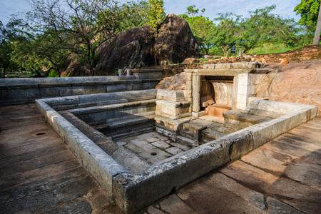 Ranmasu Uyana is a park in Sri Lanka containing the ancient Magul Uyana. (Royal Park) It is situated close to Isurumuni Vihara and Tissawewa in the ancient sacred city of Anuradhapura, Sri Lanka.