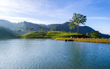 Sembuwatta Lake is a tourist attraction situated at Elkaduwa in the Matale District of Sri Lanka