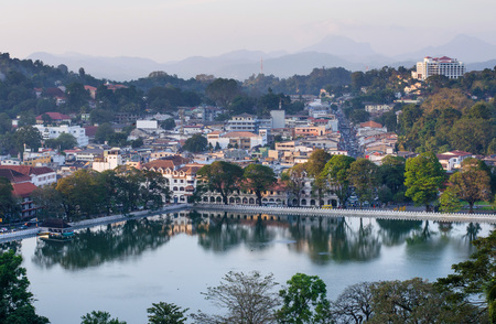 Kandy Lake , Sri Lanka