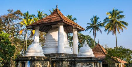 Gadaladeniya Rajamaha Vihara or Saddharmatilaka Vihara or Dharma Kirthi Viharaya is an ancient Buddhist temple situated in Pilimathalawa near Kandy, Sri Lanka