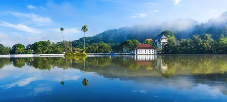 Sri Dalada Maligawa or the Temple of the Sacred Tooth Relic is a Buddhist temple in the city of Kandy, Sri Lanka. It is located in the royal palace complex of the former Kingdom of Kandy