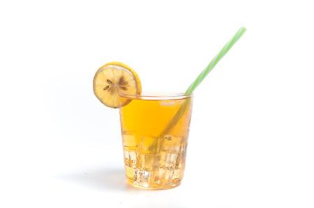 Summer lemon ice drink Stock Photo