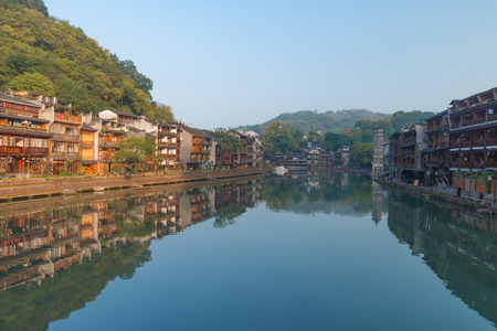 Fenghuang Ancient City landscape scenery view