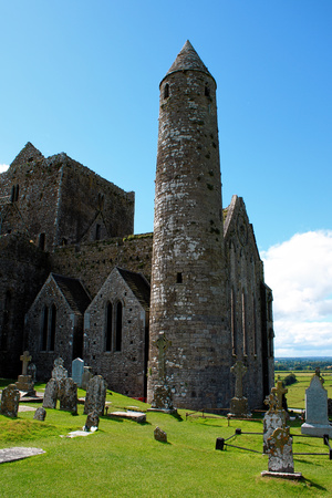 The Rock of Cashel in County Tipperary in the Republic of Ireland.