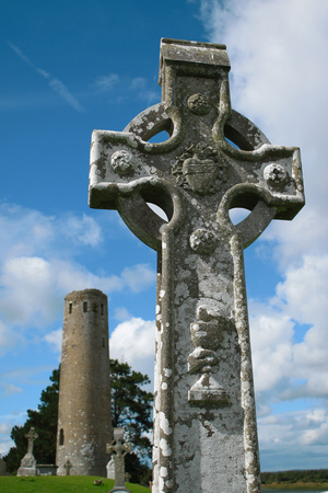 Clonmacnoise, Ireland Stock Photo
