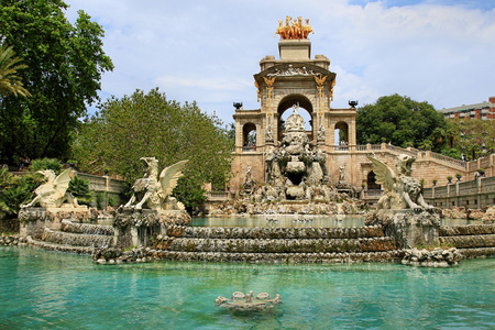 Sightseeing in Barcelona in Spain