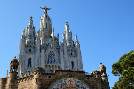 tibidabo: Tibidabo, Barcelona, Spain