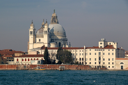 Santa Maria de la Salute, Venice, Italy Stock Photo