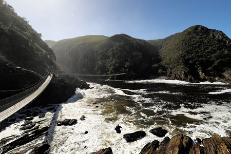 skirts: Storms River Suspension Bridge, Eastern Cape, Tsitsikamma National Park, South Africa