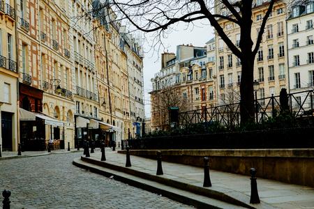 Paris city center building landscape