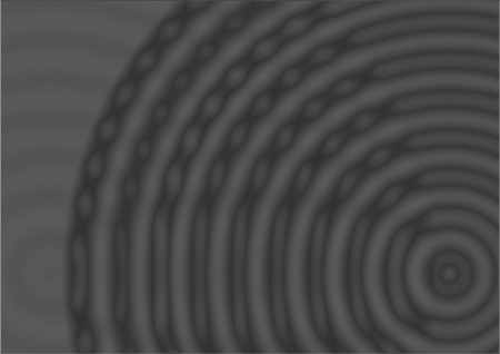 arcs: Abstract background based on the theme of shades of grey, with partial arcs of a circle, radiating from the bottom right of the foreground that are more defined with chain like links  Stock Photo