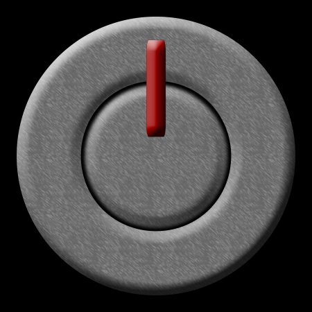 poweron: Silver Power On-Off Button