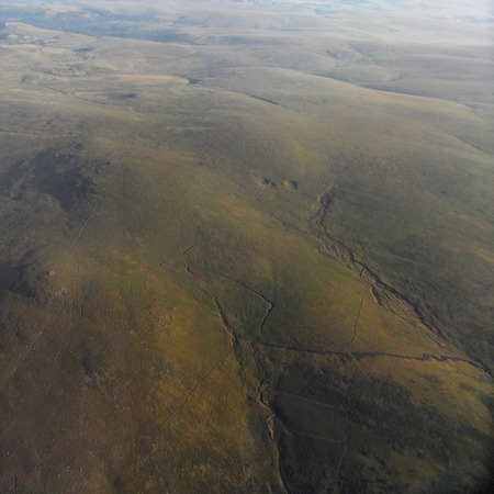 ramble: Lee Moor from the Air