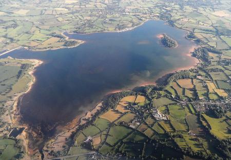 landfall: Lake from the Air