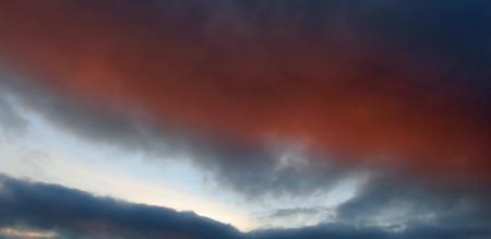 flaming: Flaming Sunset