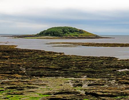 coastline: Looe Island Coastline