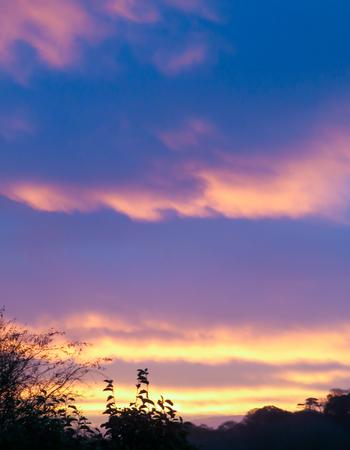 Flame Morning Sky Stock Photo