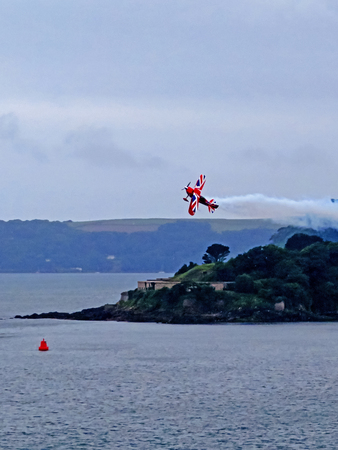 drakes: Aeroplane Display Over Plymouth Sound