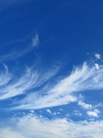 weather front: Cirrus Clouds Stock Photo