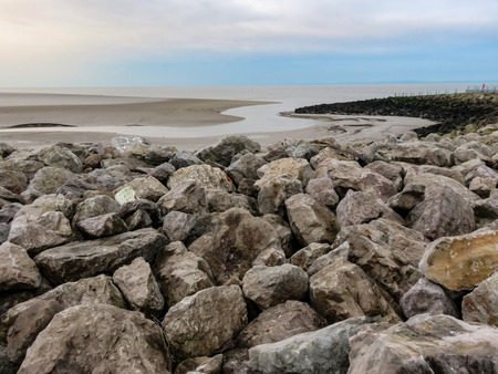Rocks before Mud Flats
