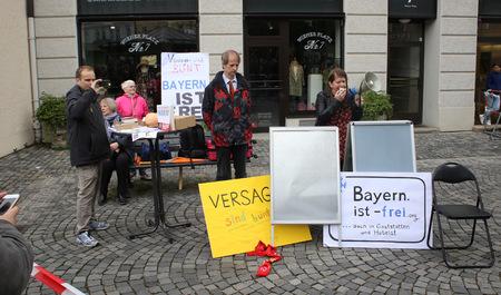 2016/05/13, Deutsche Pegida auf Protest in München Standard-Bild - 85961978