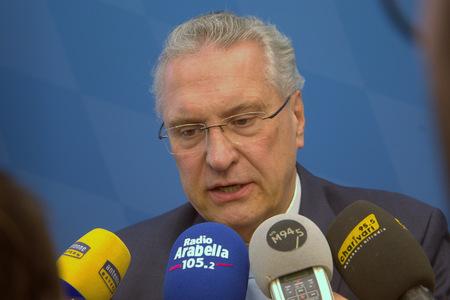2017-03-13, Joachim Herrmann (CSU), Bayerischer Innenminister der Presse Standard-Bild - 78214852