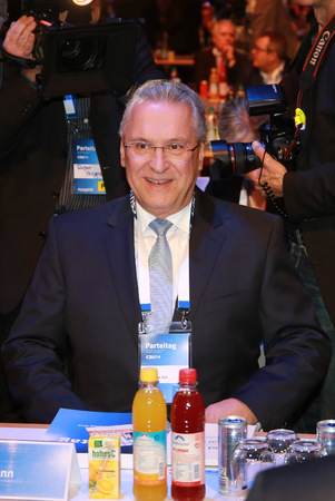 2016-11-04, Joachim Herrmann (CSU) at the CSU party convention in Munich