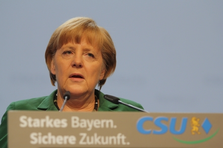2012-10-19, 2015-11-20, Angela MERKEL CDU Federal Chancellor of Germany and Chairman of the Christian Democratic Union CDU on CSU party convention in Munich
