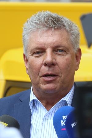 München, 21. Juni 2017 - Dieter Reiter, 1. Bürgermeister von München (Bayern) an die Presse Standard-Bild - 86020545