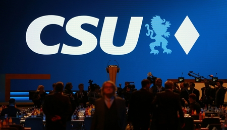 November 4, 2016 - Munich, Germany - CSU party convention