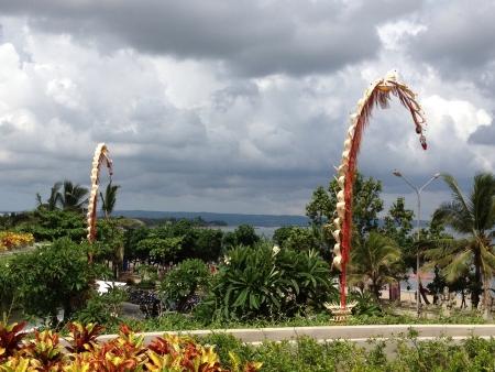 kuta: View of Kuta Beach Bali   Stock Photo