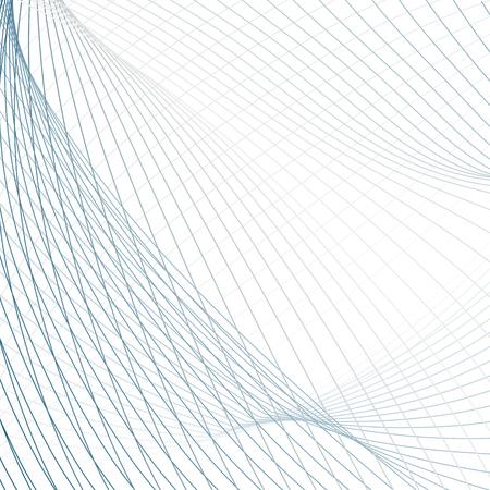 Technologie netto achtergrond. Samenvatting gekleurde vector patroon van golvende lijnen. Lijn kunst futuristisch design. Moderne wetenschappelijke golvende sjabloon in blauwe, grijze, witte tinten Stockfoto - 101729657